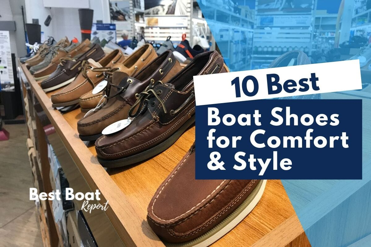 The 10 Best Shoes for Boating [Plus Slip Protection, Comfort and Style!] What Is The Most Comfortable Daily Use Boat Shoe? The Sperry Top-Sider Men's Billfish 3-Eye Boat Shoe What are the Best Boat Shoes To Wear On A Fishing Boat [fishing shoes]? The best fishing shoes for being on a boat fishing all day are the Columbia Men's Drainmaker III Water Shoe. Do You Wear Socks With Boat Shoes?