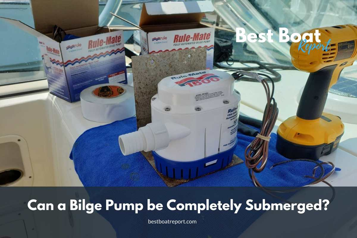 Can a Bilge Pump be Completely Submerged? #boating, #boats
