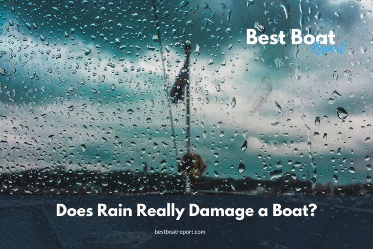Does Rain Really Damage a Boat?