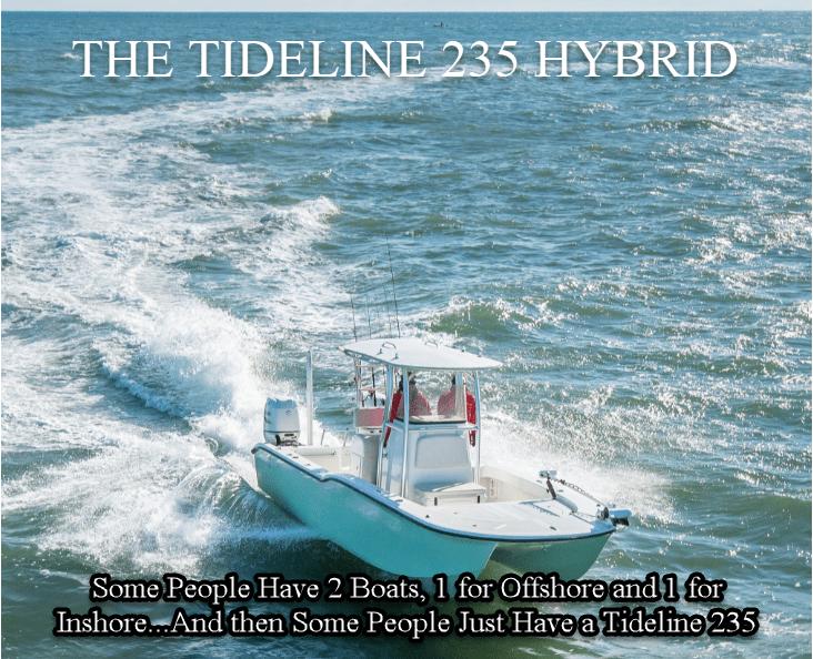 235 Tideline Hybrid Boat