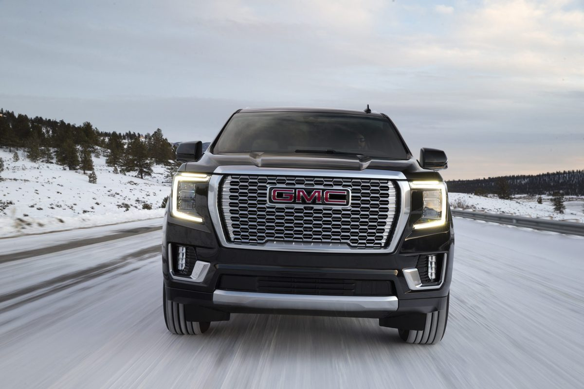 2021 GMC Yukon Denali towing capacity