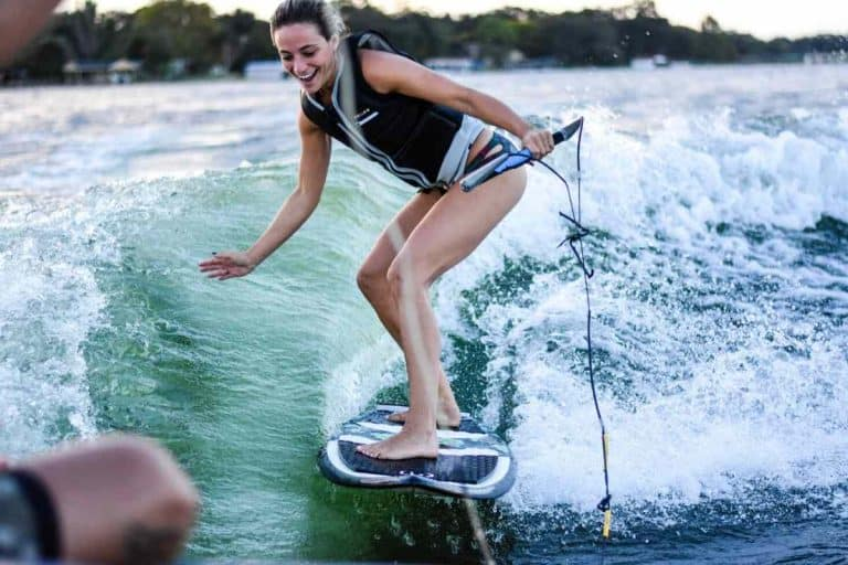 Can You Wakesurf or Wakeboard Behind a Pontoon Boat?