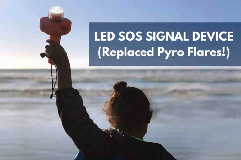 LED SOS Safety Signal Device: My Newest Piece of Boating Safety Equipment