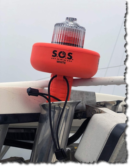 Coast Guard Approved SOS LED Electronic Visual Distress Signal