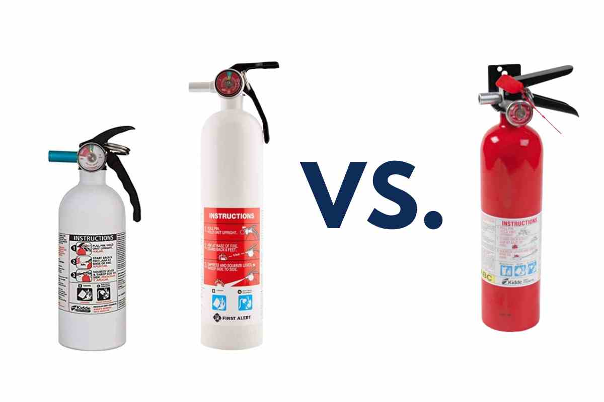 Why Are Marine Fire Extinguishers White?