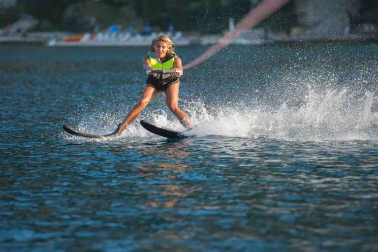 Can You Ski Behind A Deck Boat?