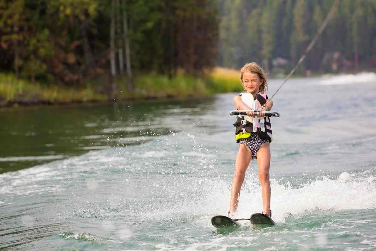 Can You Ski Behind A Wakeboard Boat? #waterski #wakeboard #skiboat #wakeboardboat #boat #boatlife #lakelife #watersports