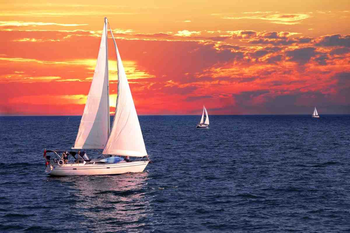 How does a Sailboat Wind Vane Work?