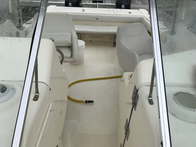 What's the best way to clean boat seats?