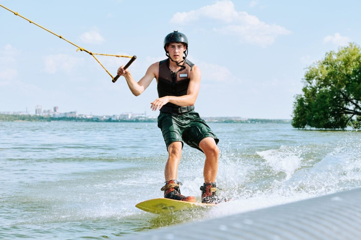 an You Wakeboard Behind A Bowrider