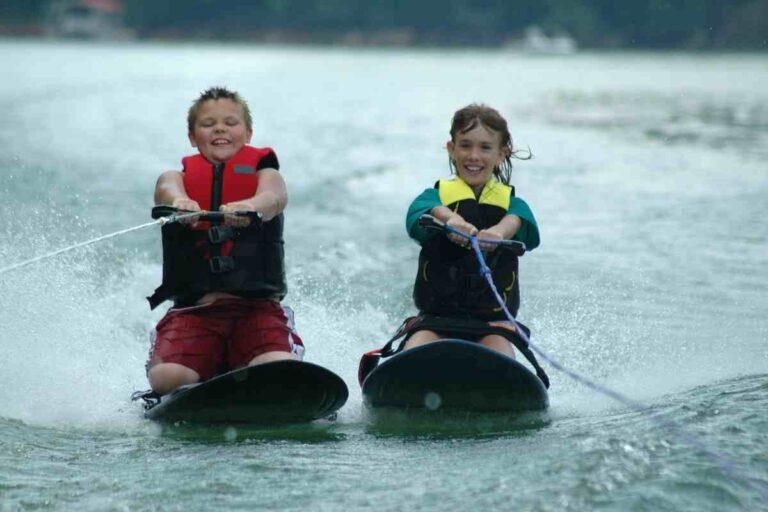 Is Knee Boarding Easier Than Water Skiing?