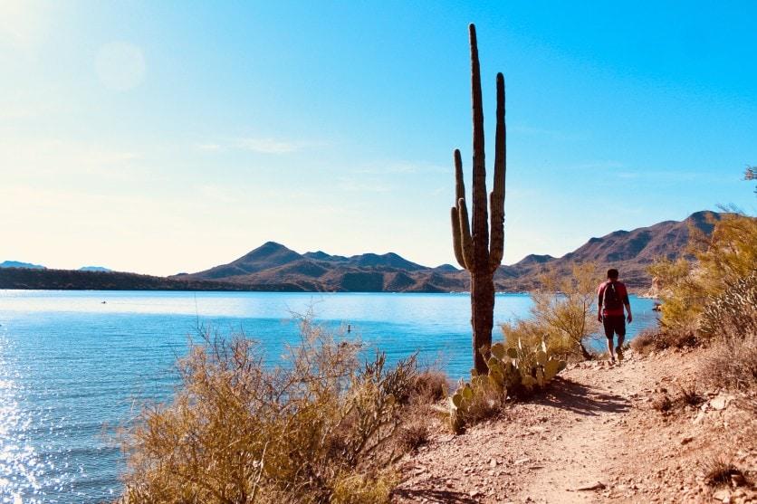 Where to Wakeboard in Arizona (7 Best Lakes Revealed!) Saguaro Lake, Arizona